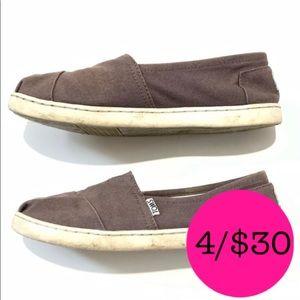 Toms Purple Flats Size 5 Women's